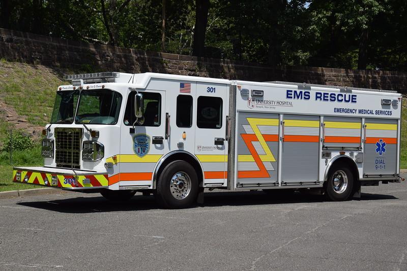 UDMNJ, Newark Rscue 301