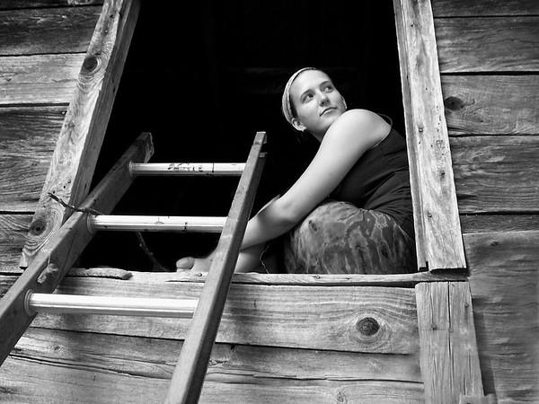 Sara in the Barn copy