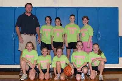 Girls 12 year old team