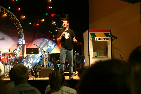 Camp Pastor Mark shares a few thoughts during the AM show.