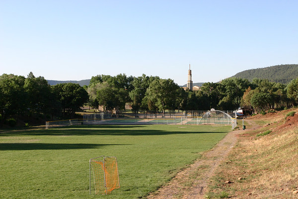 We emerged from the wilds to find that Glorieta and civilization were just as we left them.