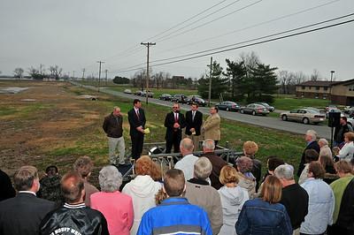 Mayor Steve Bryant at FBCB Ground Breaking Ceremony