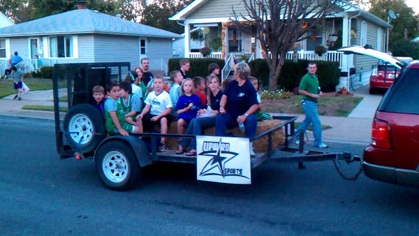 Upward at Roxana Homecoming Parade  Oct 2010