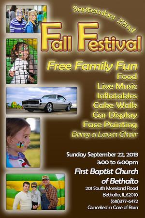 Fall Festival, September 22, 2013