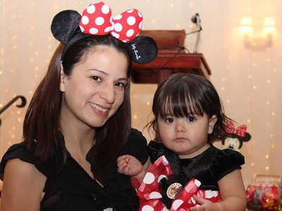 Isabella's Mickey & Minnie First Birthday