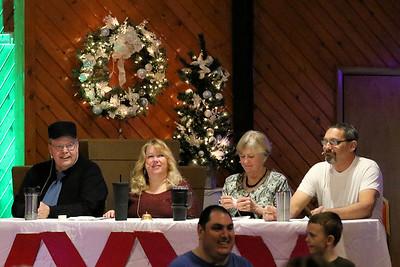 The illustrious judges.