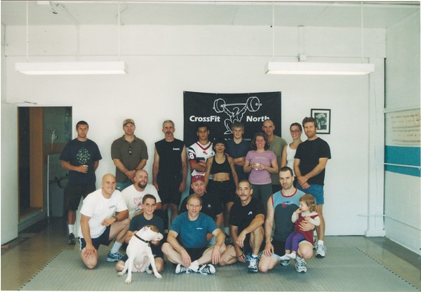 Competitors for the CrossFit Challenge