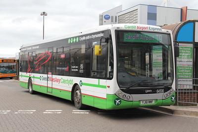 First Cymru 64506 Cardiff Bus Station 1 Apr 14