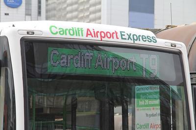 First Cymru 64506 Cardiff Bus Station 2 Apr 14