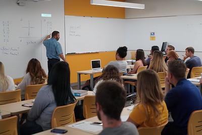 Tracy Hall classroom