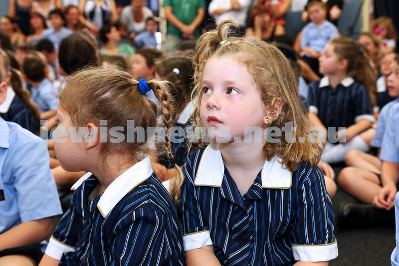 3-2-14. King David School - Southwick Campus. First day of school 2014. Photo: Lochlan Tangas