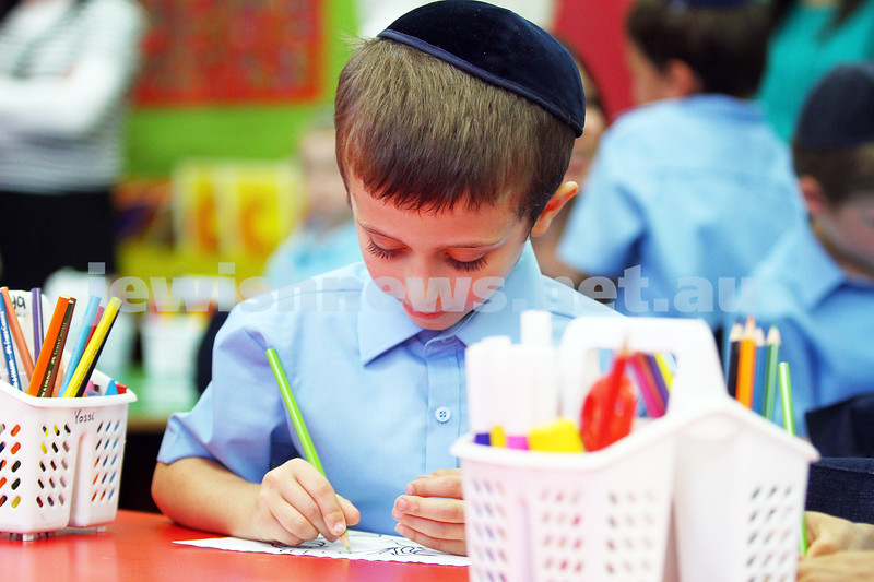 30-1-14. Yeshivah College College. First Day of school. photo: Peter Haskin