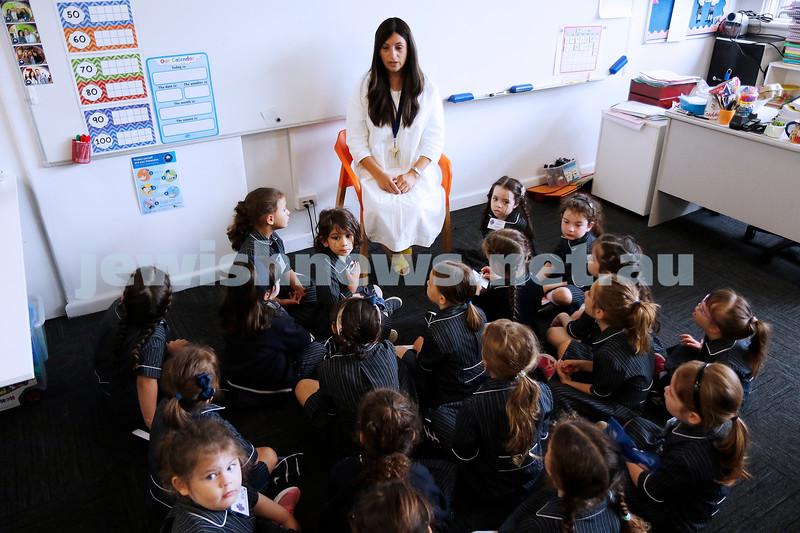 1-2-21. Back to school 2021. Beth Rivkah Ladies College. Photo: Peter Haskin