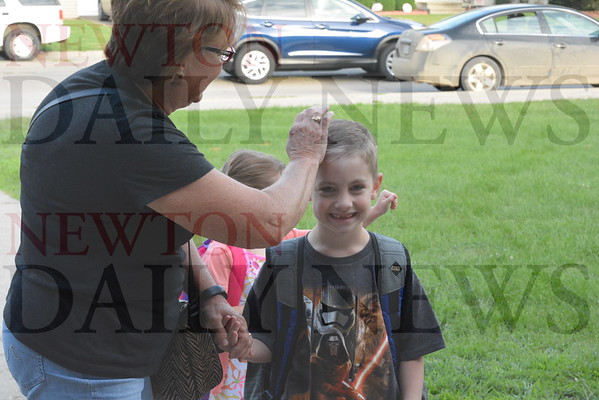 First Day of School Aug. 23, 2016