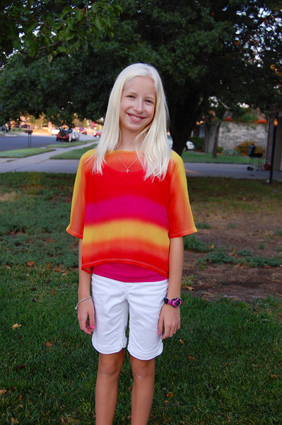First day of 7th grade (8.27.12)