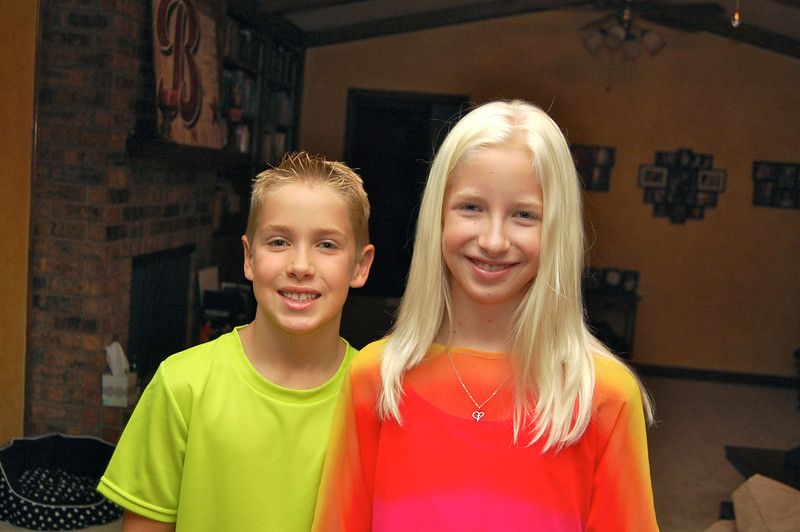 First day of 4th and 7th grade (8.27.12)
