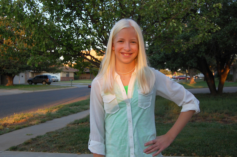 First day of 8th grade (8.26.13)