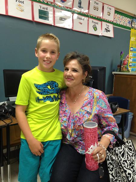 Meet & greet with Mrs. Hammons (8.23.12)