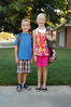 1st day of 1st/4th grades (2009)