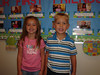 1st day of Pre-K at Trinity Baptist (September 5, 2007), with best friend Ashlyn Vineyard.