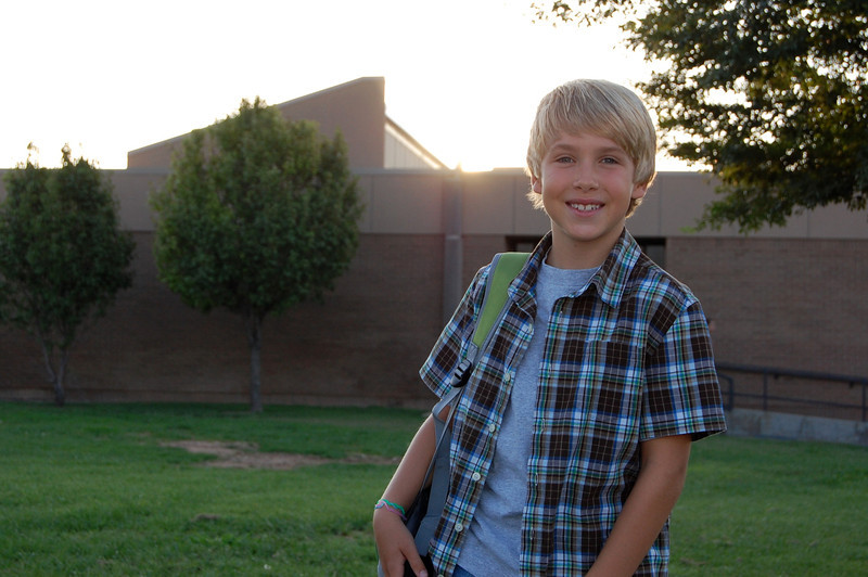 1st day of 3rd grade (8.22.11)
