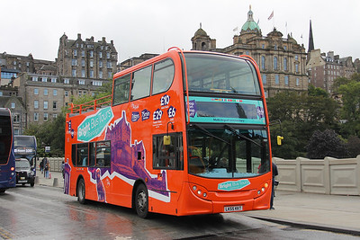 First East Scotland 33500 Waverley Bridge Edinburgh Sep 19