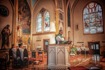 FSSP LatinMass St  Marys profile homily fr  Gismondi-1