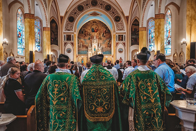 FSSP LatinMass St  Marys 3 priest procession-1