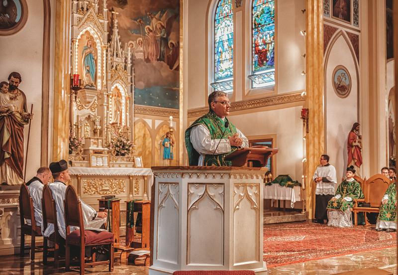 FSSP LatinMass St  Marys fr  gismondi homily-1