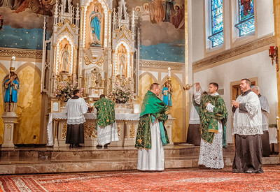 FSSP LatinMass St  Marys incense 3-1