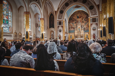 FSSP LatinMass St  Marys profile homily fr  Gismondi packed house 2-1