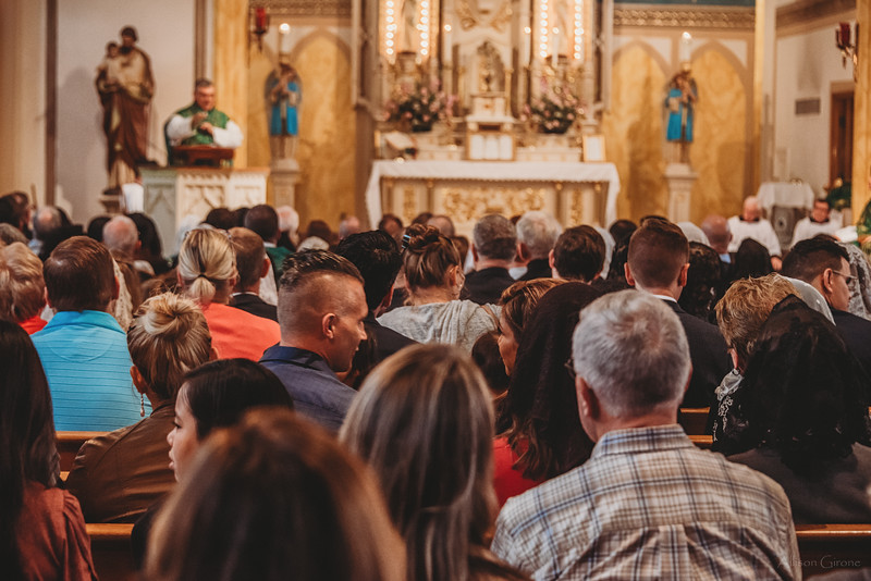 FSSP LatinMass St  Marys profile homily fr  Gismondi pews-1