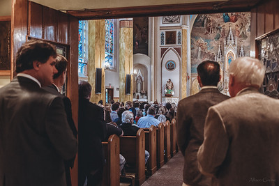 FSSP LatinMass St  Marys profile homily fr  Gismondi packed house-1