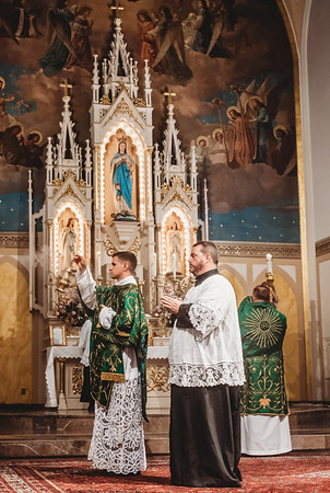 FSSP LatinMass St  Marys incense-1