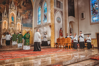FSSP LatinMass St  Marys incense 7-1