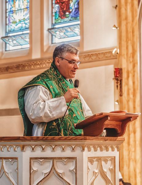 FSSP LatinMass St  Marys fr  gismondi homily 3-1