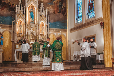 FSSP LatinMass St  Marys incense 5-1