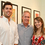 Revelry Owner Scotty Howe, Mayor Greg Fischer and Revelry Gallery Director Molly Huffman.