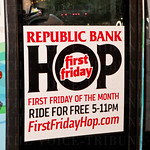 First Friday Trolley Hop.