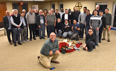 First Friday participants at Sacred Heart Monastery