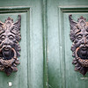 Impressive door knockers