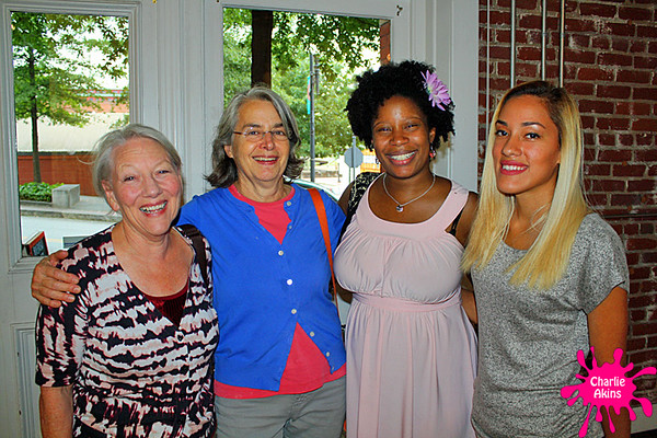 My next stop was Riverviews Artspace, where I met these ladies.