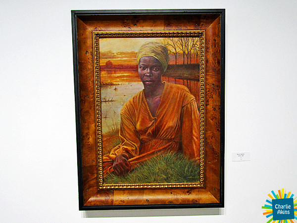 Painting by Kevin Chadwick at the Academy Center of the Arts