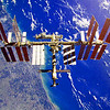 This impressive picture of the International Space Station was taken by Leland Melvin.