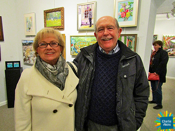 I saw these nice people at the Lynchburg Art Club and Gallery.