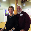 I met these nice people at the Academy Center of the Arts. The gentleman is talented artist, Russell Voelker.