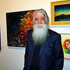 Larry Bassett and his fine art collection at Riverviews Artspace