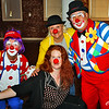 Clowning around at Riverviews Artspace