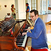 Piano playing at the Academy Center of the Arts