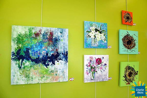 There are impressive paintings at the Lynchburg Humane Society.